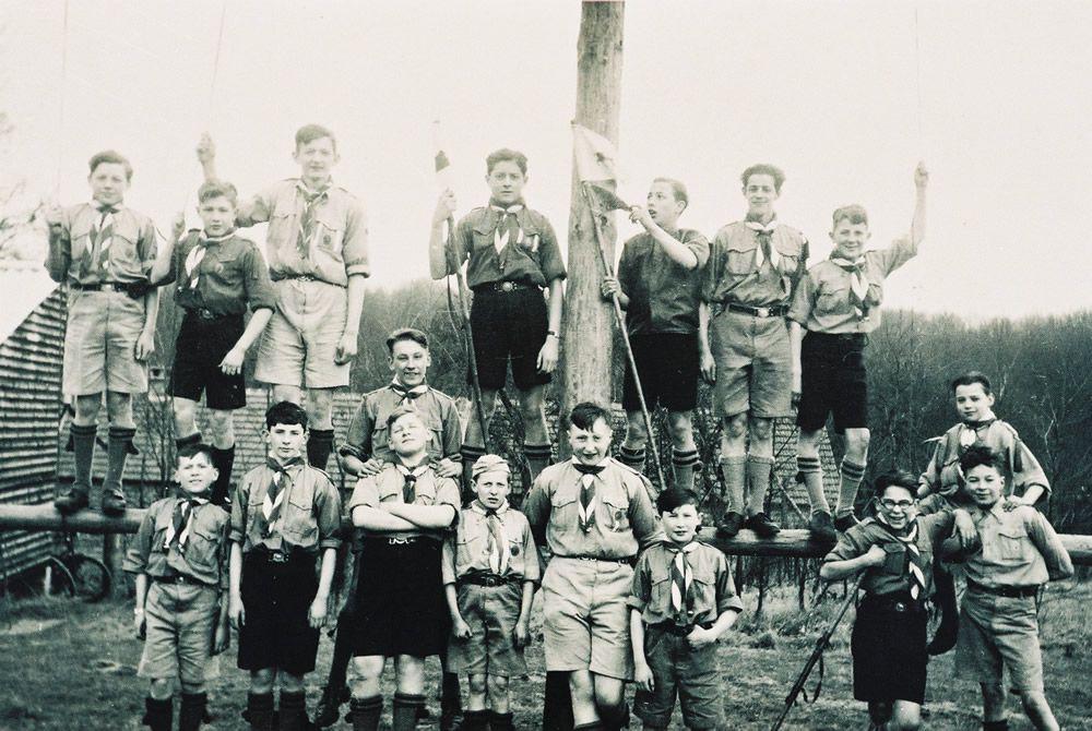 1939 De Kluis 1ejaar-graalridders groepsfoto